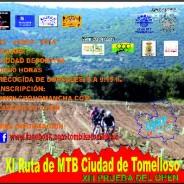 XI RUTA DE MTB CIUDAD DE TOMELLOSO