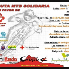 III Ruta Cicloturista Mtb Solidaria a Favor de Cáritas Tomelloso