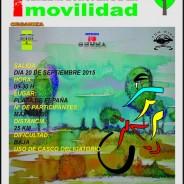 20-sep-2015. 1ª Ruta Cicloturista Popular MTB Tomelloso (día de la movilidad Europea)