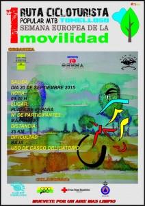 Ruta Mtb Tomelloso Semana Movilidad 2015