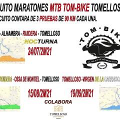 1º Circuito Maratones MTB TOMBIKE  2M21